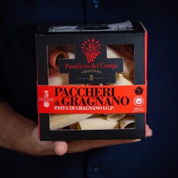 Paccheri pasta from...