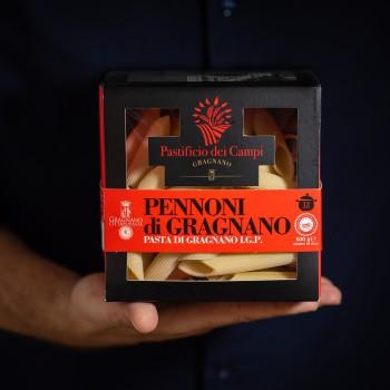 Pennoni Nudeln aus Gragnano...