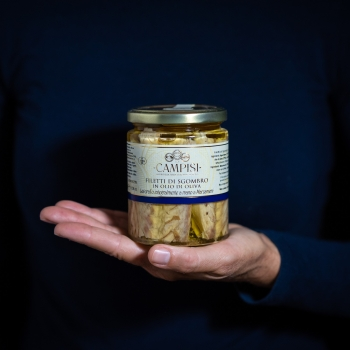 Makrelenfilets in Olivenöl...