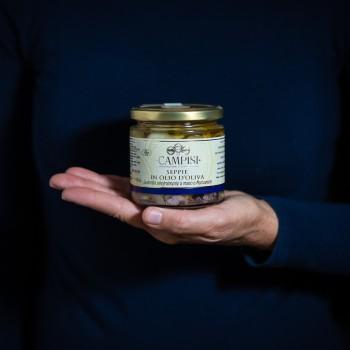 Tintenfisch in Olivenöl -...
