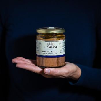 In Olivenöl eingelegter...