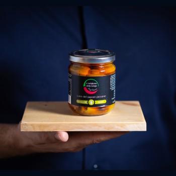 'Nduja-Wurst mit Oliven -...