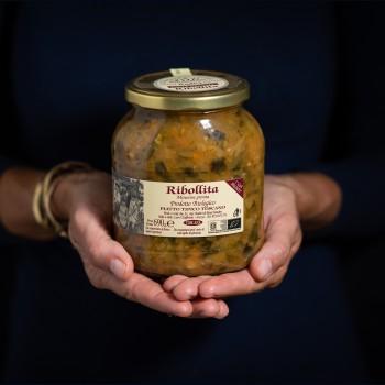 Toskanische Ribollita Suppe...