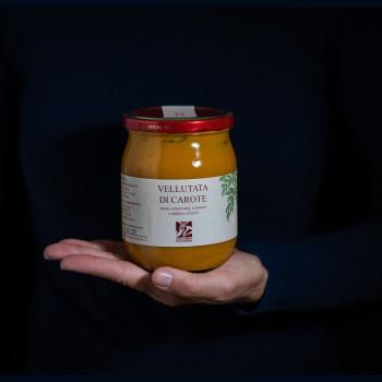 Cream of carrot soup - 500g