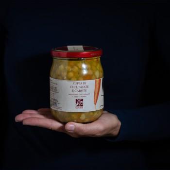 Kichererbsen-Kartoffel-Möhr...