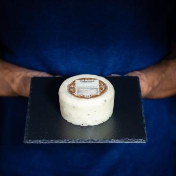 Truffle pecorino cheese...