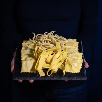 Verkostung frischer Pasta...