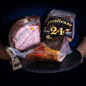 Best Italian hams - 5.2 kg...
