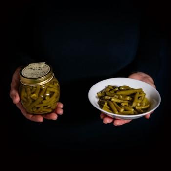 Süß-saure grüne Bohnen - 350 g