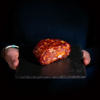 Calabrian Spianata sausage...