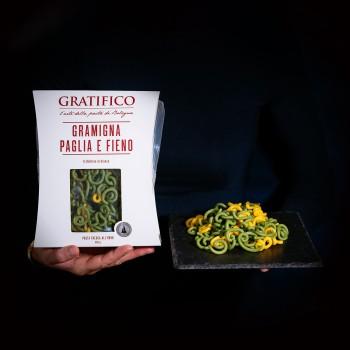 "Gramigna pasta ""straw and..."