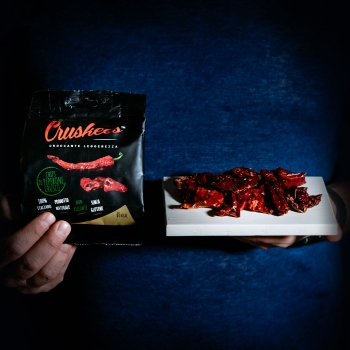 Crispy dried sweet peppers...