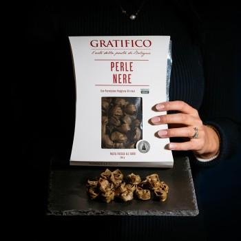 Black pearls truffle pasta...