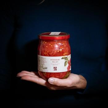 Organic peeled tomatoes –...